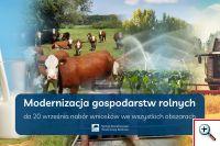 Niewiele czasu zostało na ubieganie się o wsparcie na modernizację gospodarstw